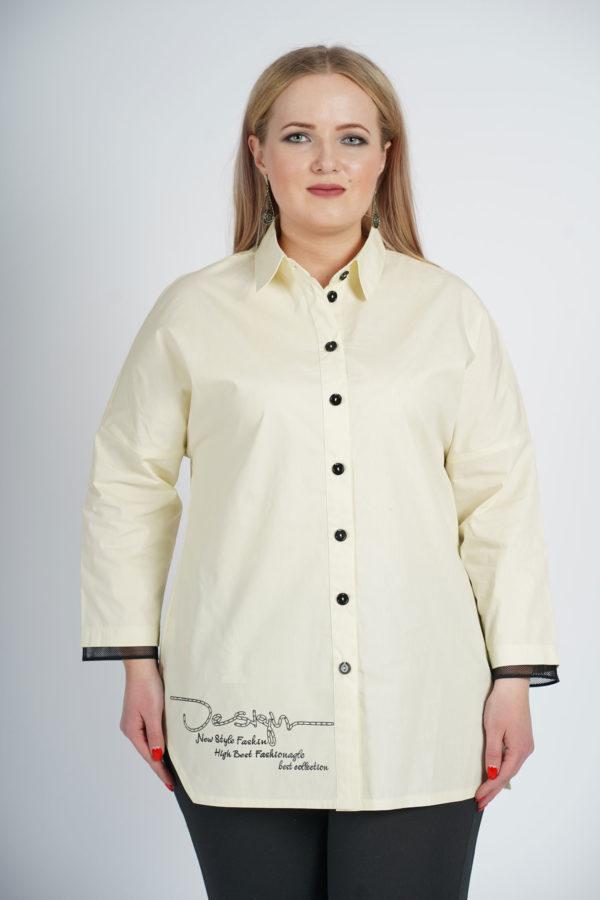 Рубашка Александра (молочный)