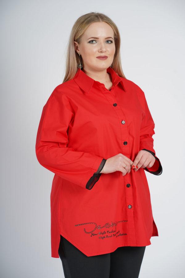 Рубашка Александра (красный)