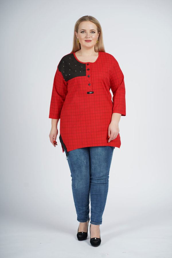 Туника Маргарита (Красный)
