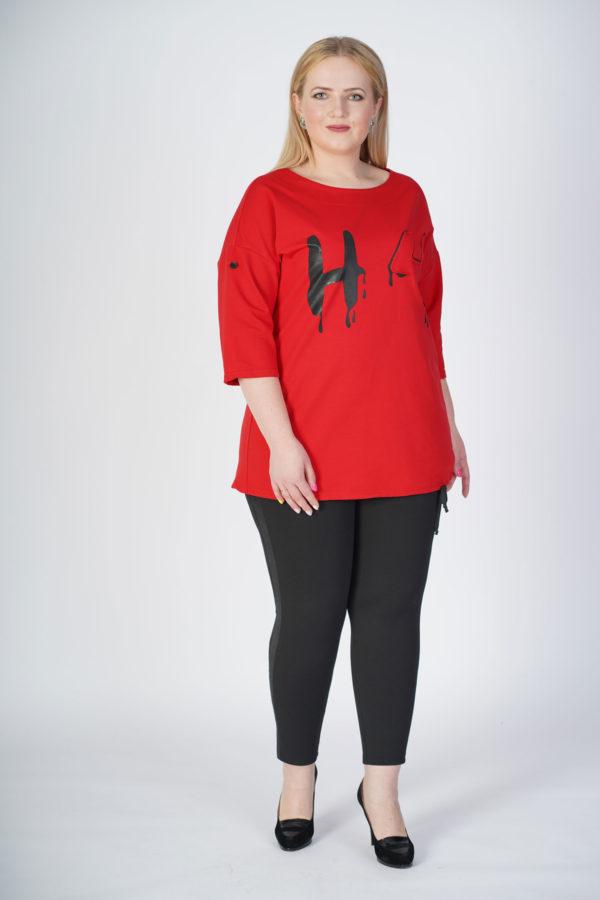 Туника Полина (красный)