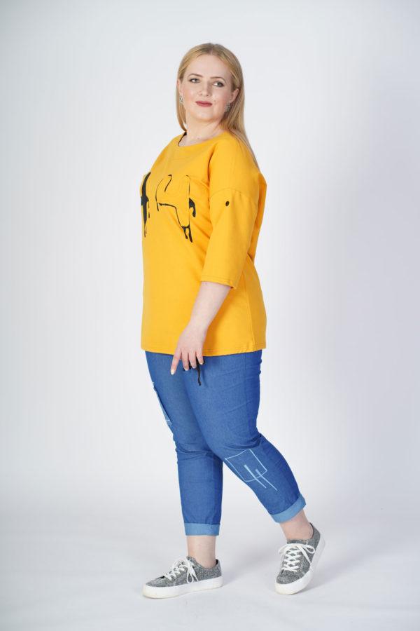 Туника Полина (желтый)