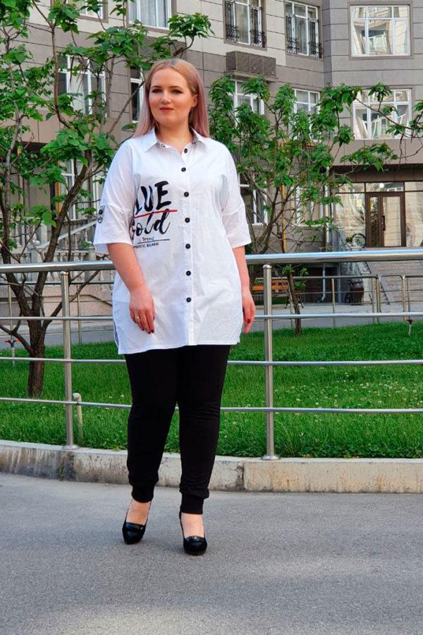 Рубашка Тренд (Белый)