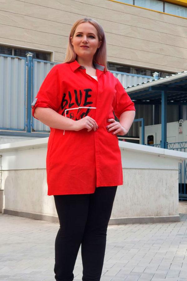 Рубашка Тренд (Красный)