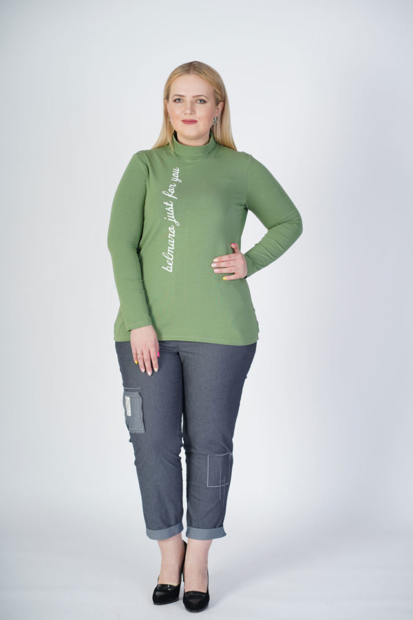 Водолазка Алина (зеленый)