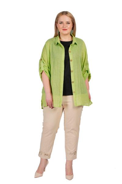 Комплект (майка+рубашка) Майя, брюки Альбина