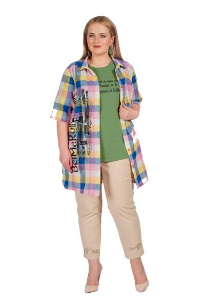 Рубашка Венера, футболка Арина, брюки Альбина
