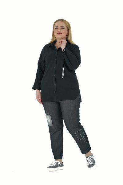 Рубашка Валетта, джинсы Валерия