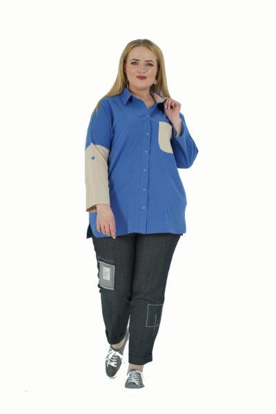 Рубашка Комета, джинсы Валерия