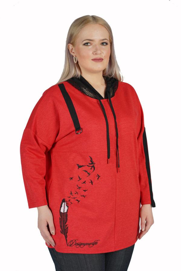 Туника Перо (Красный)