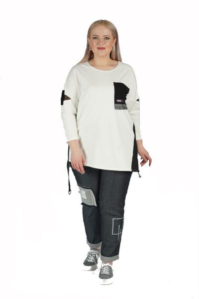 Туника Fashion, джинсы Валерия