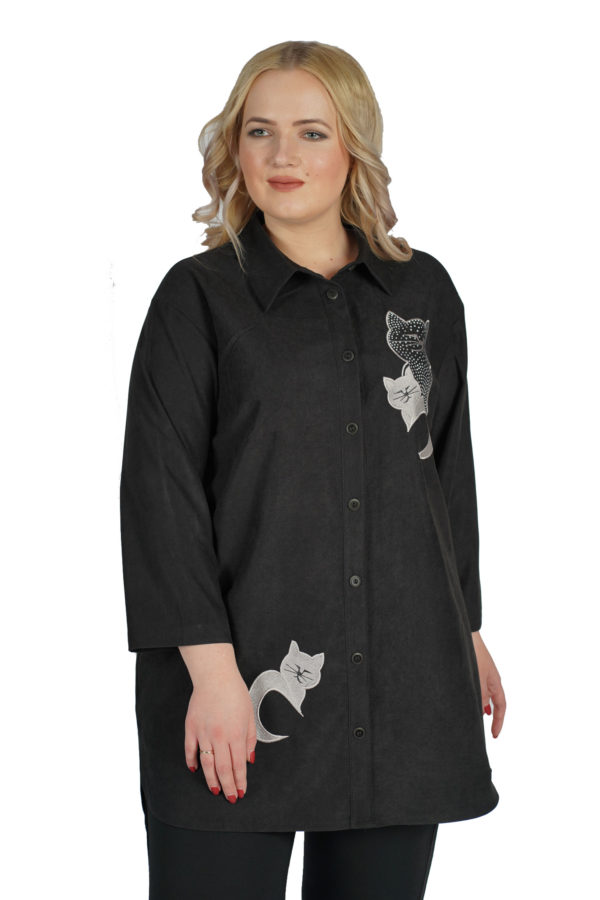 Рубашка Блеск (черный)
