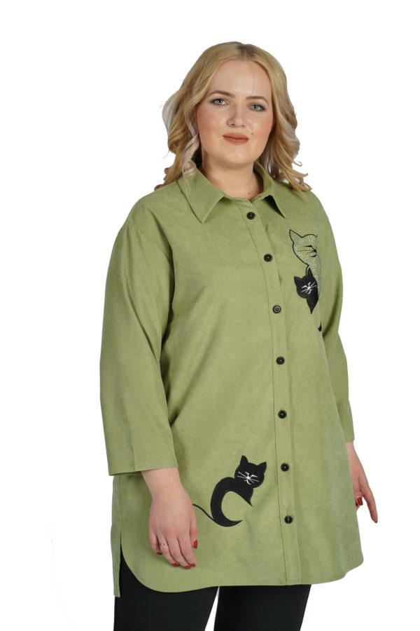 Рубашка Блеск (мята)