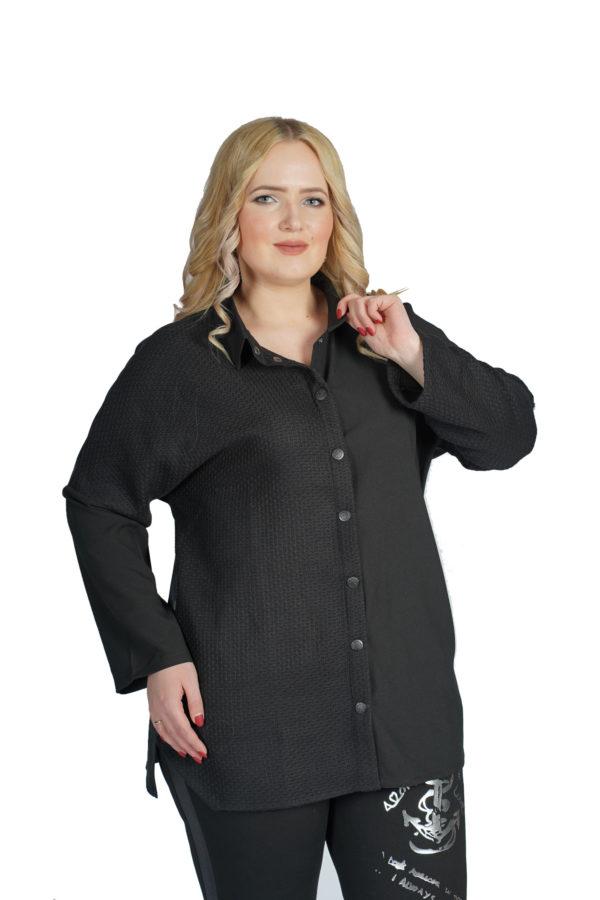 Рубашка Вероника (черный)