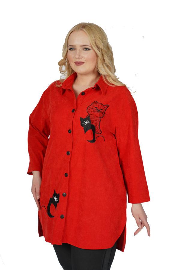 Рубашка Блеск (красный)