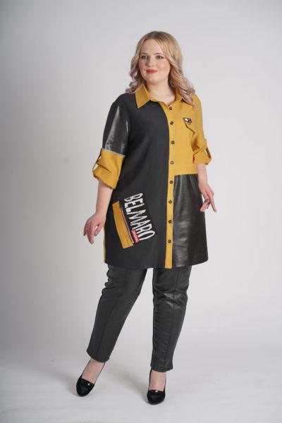 Рубашка-туника Пазл, штаны Dark
