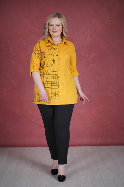 Рубашка Домики