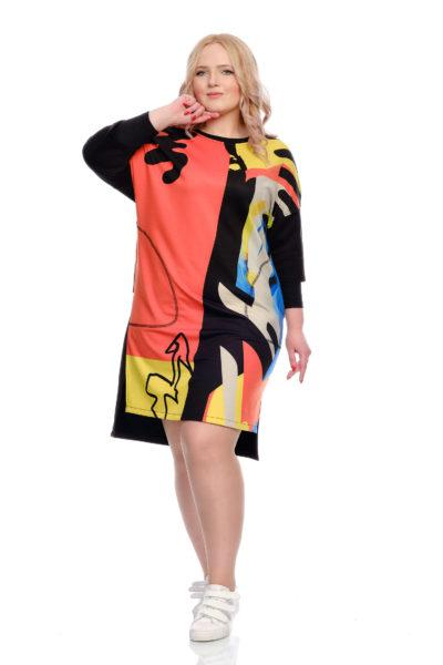 Платье Краски