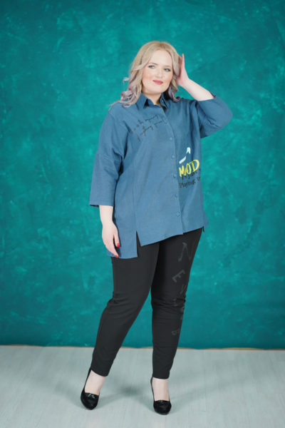 Рубашка Mood, брюки Буквы
