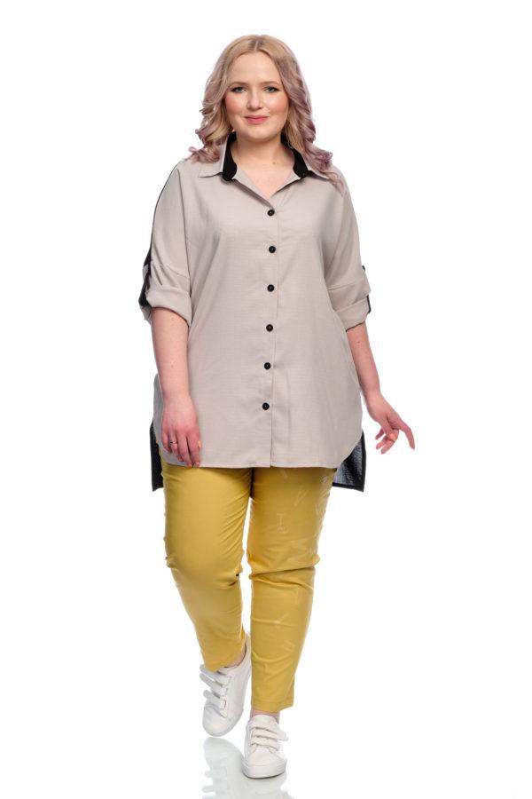 Рубашка Африканка (Серый)
