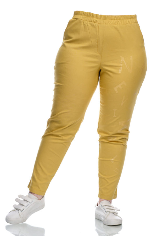 Штаны Буковки (Желтый)