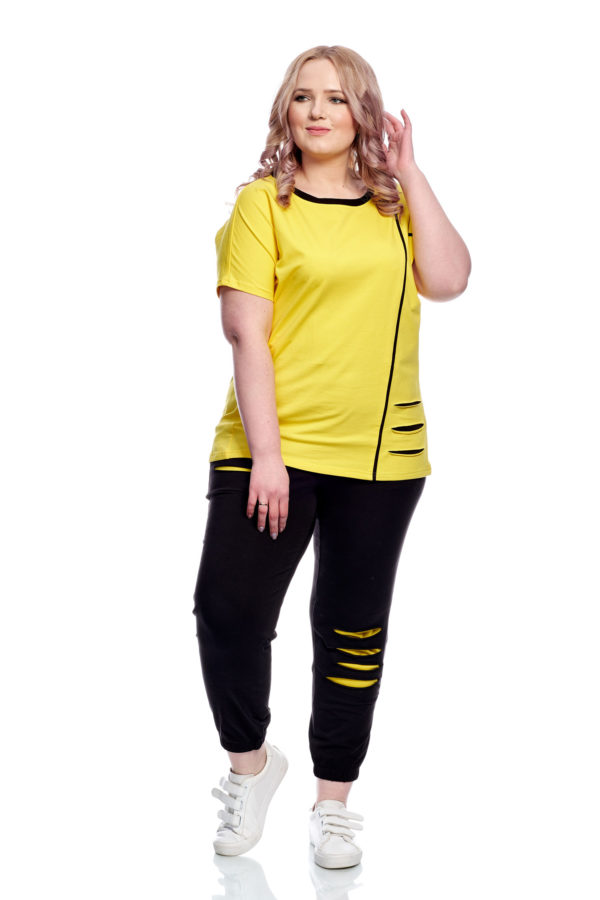 Футболка Рванка (Желтый)