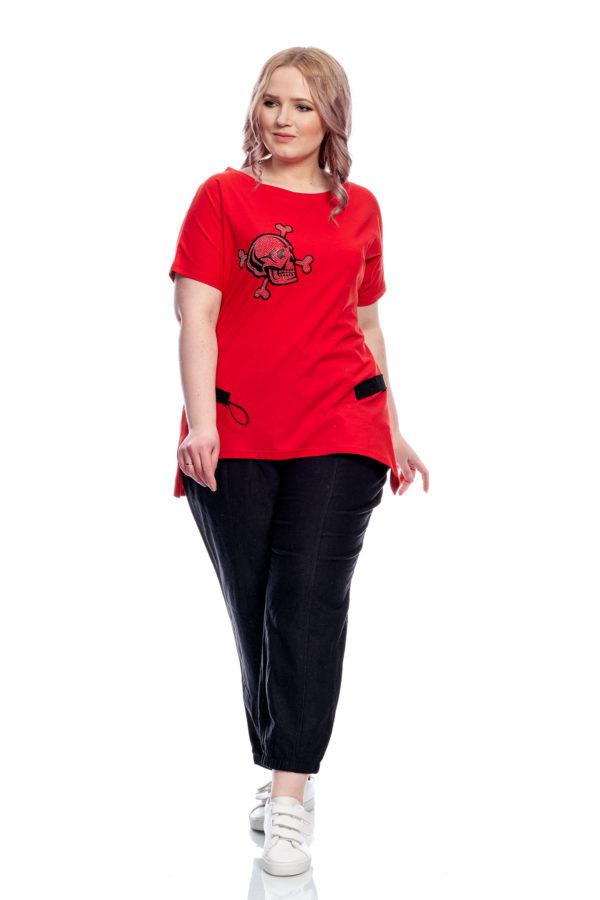 Туника Череп (Красный)