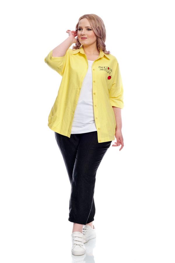 Рубашка Смайлик (Желтый)