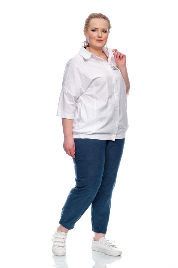 Рубашка Смайлик (Белый)