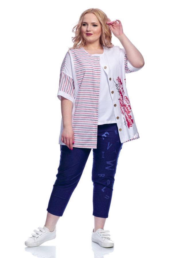 Рубашка Морячка (Розовый)