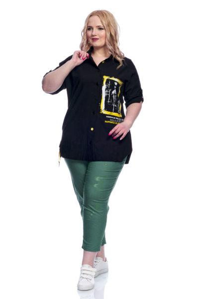 Рубашка Клео, капри Буквы