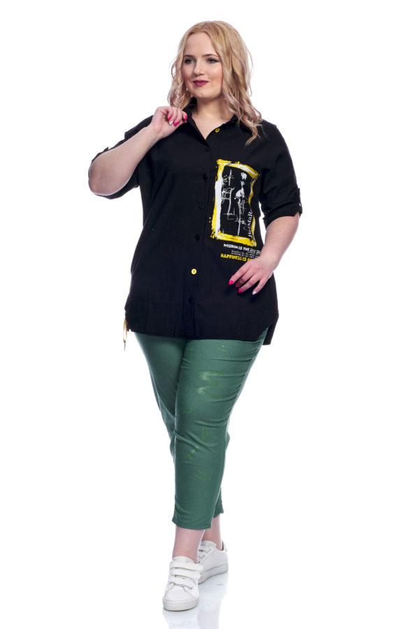 Рубашка Клео (Черный)