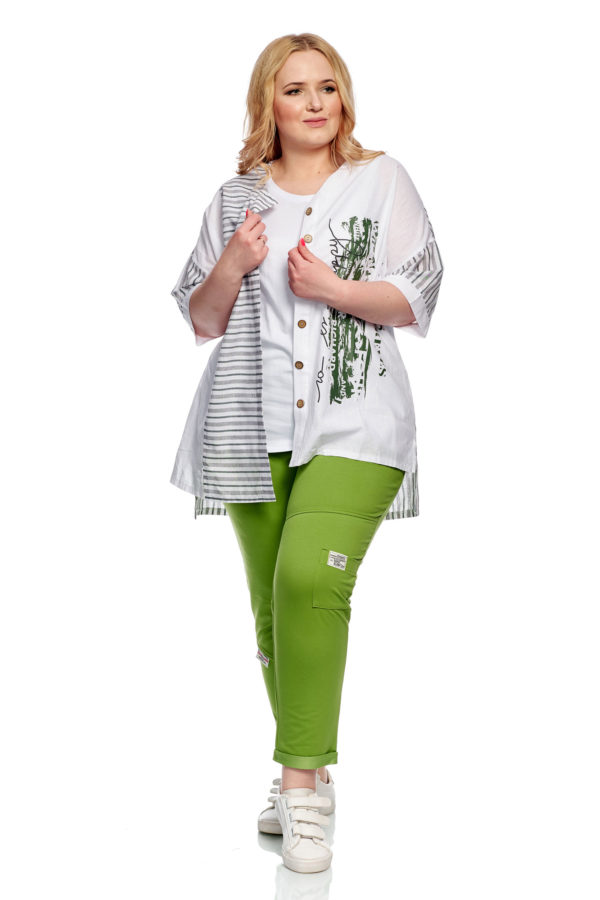 Рубашка Морячка (Зеленый)