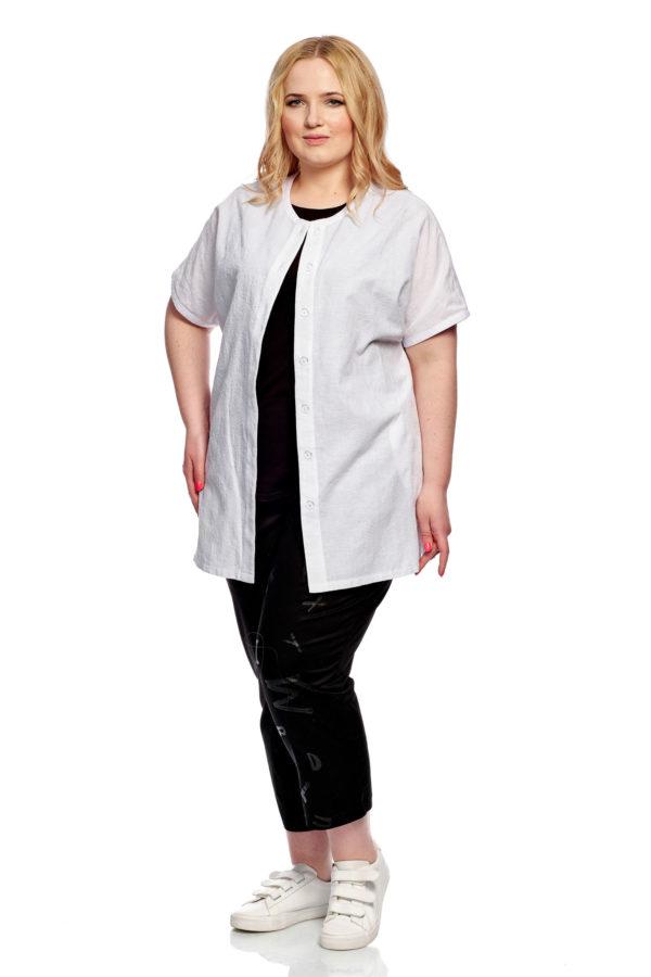 Рубашка Стразы (Белый)