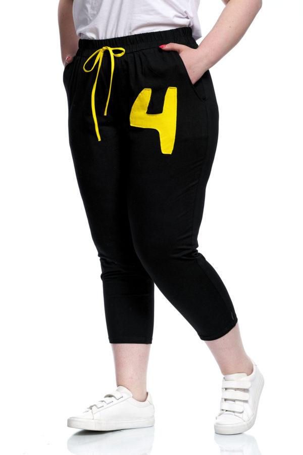 Штаны Н4 (черный+желтый)
