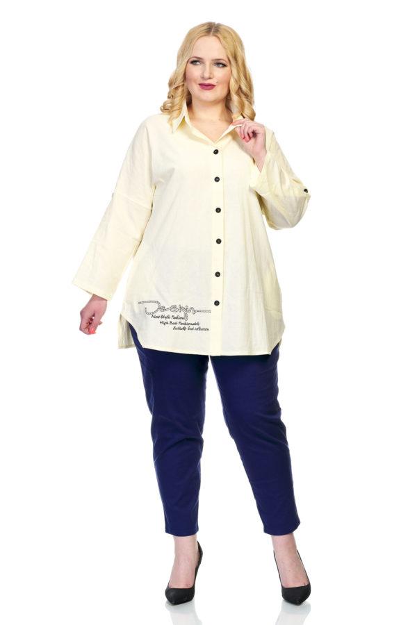 Рубашка Дизайн (айвори)