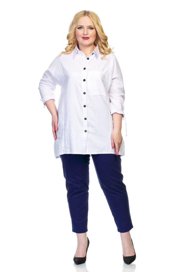 Рубашка Вышивка (белый)