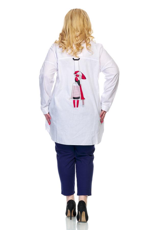 Рубашка Зонтик (белый)