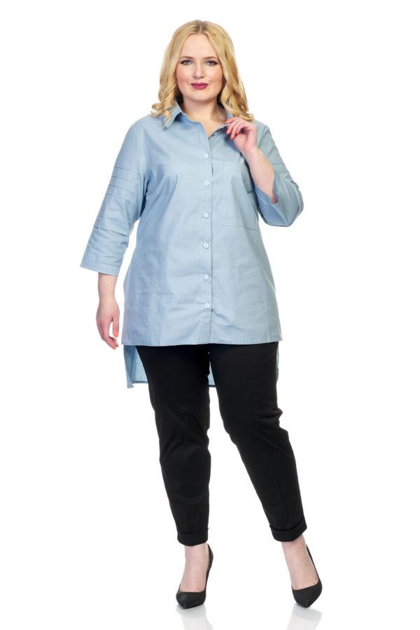 Рубашка Илона (голубой)