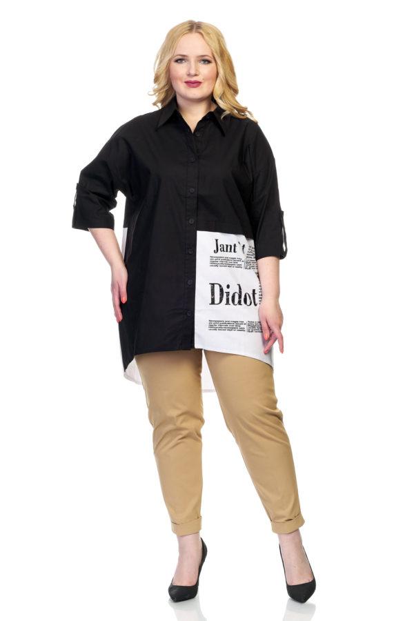 Рубашка Didot (черный)