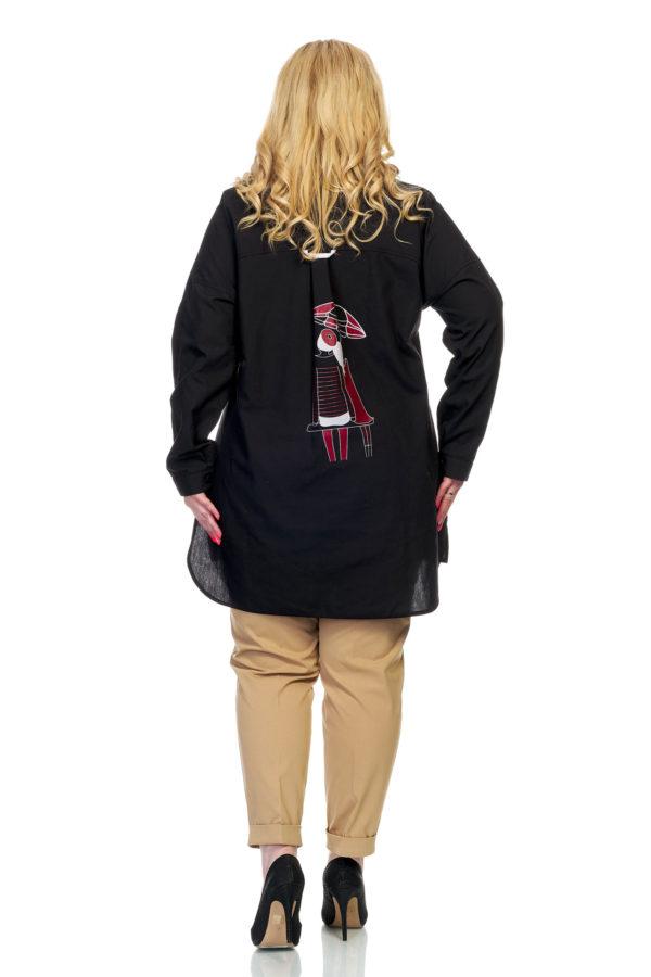 Рубашка Зонтик (черный)