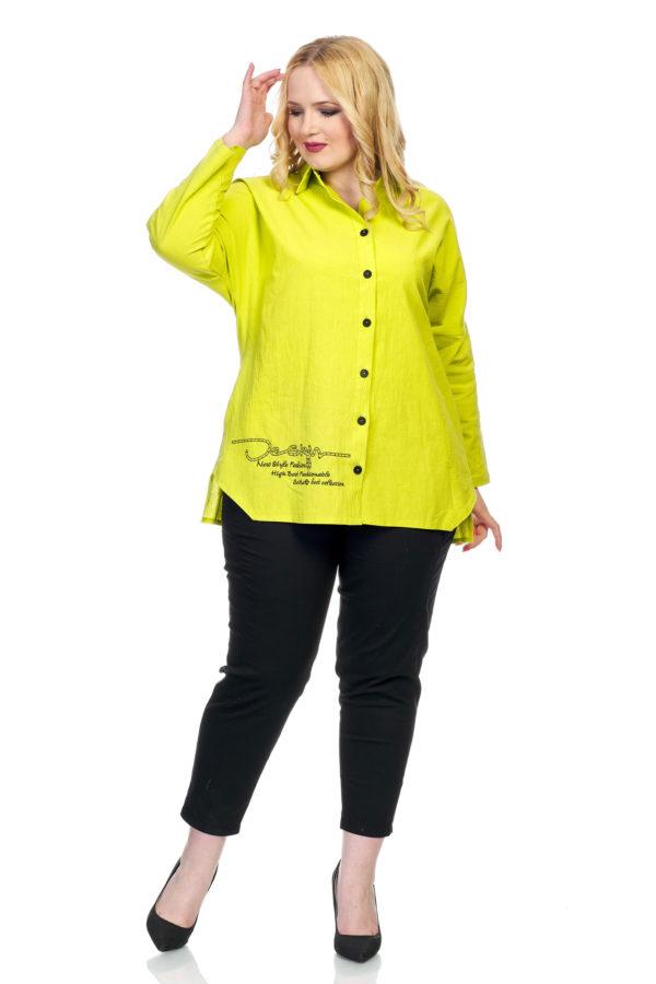 Рубашка Дизайн (лайм)