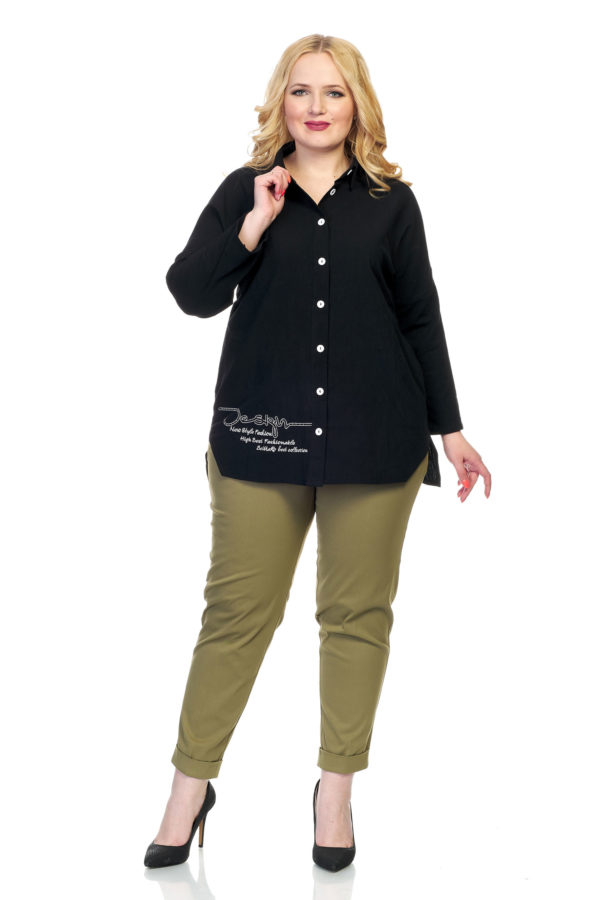 Рубашка Дизайн (черный)