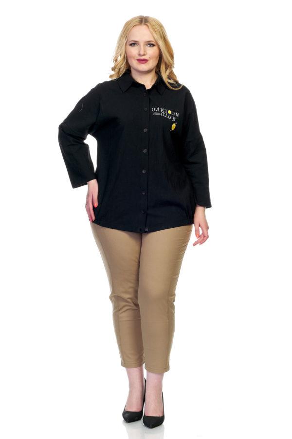 Рубашка Смайл (черный)