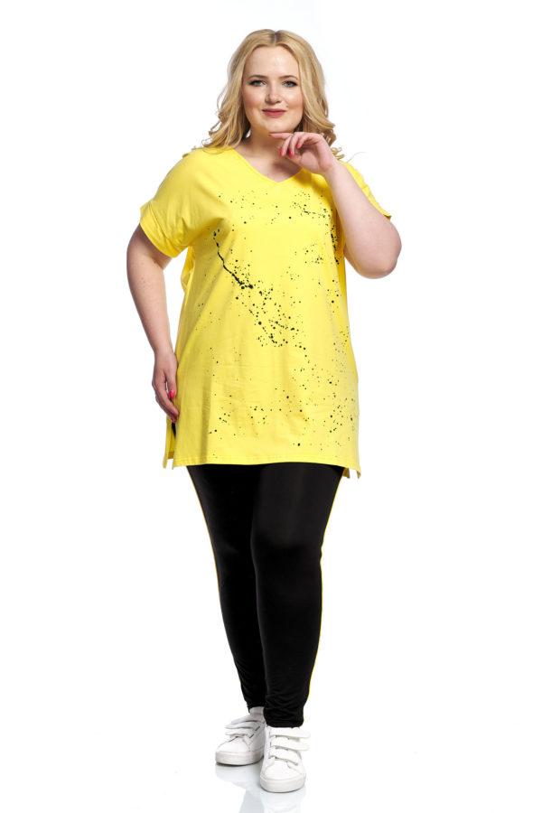 Туника Брызги (желтый)