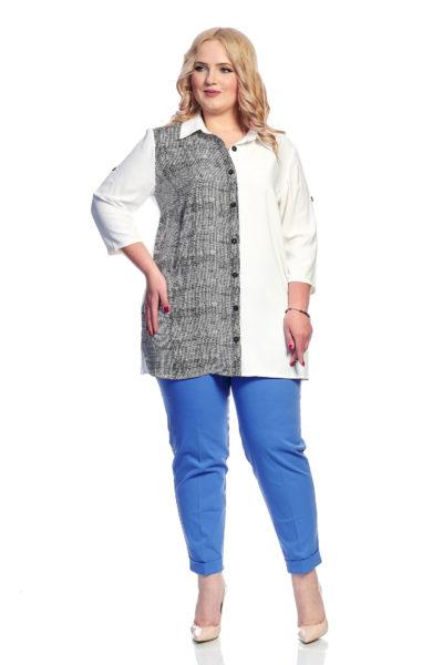 Рубашка Шелк, брюки Классика