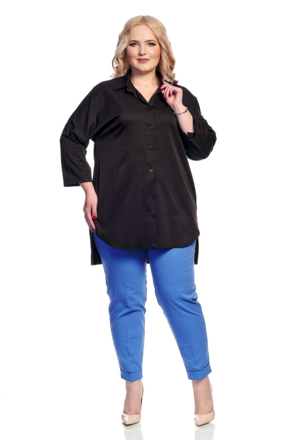 Рубашка Однотон (черный)