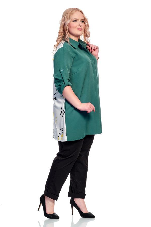 Рубашка Сублимация (бирюза)