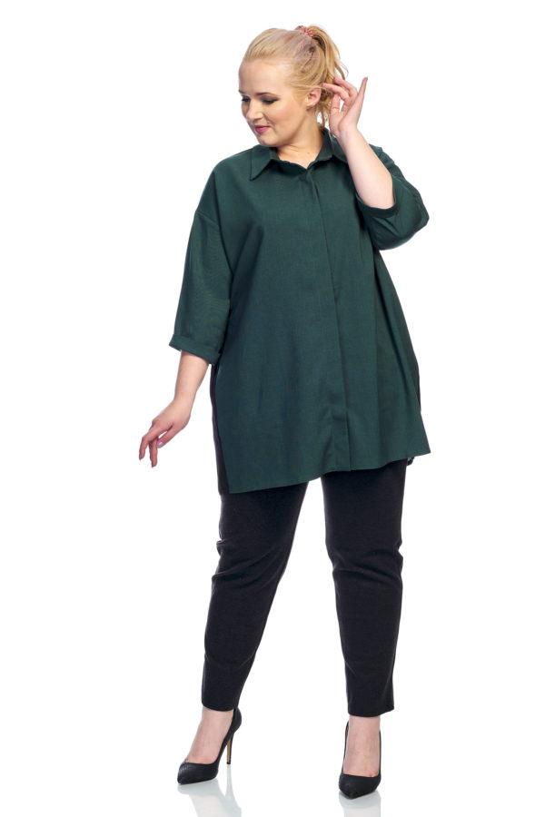 Рубашка Шлейфик (изумруд)