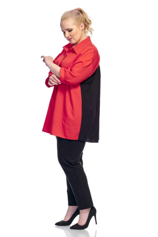 Рубашка Шлейфик (красный)
