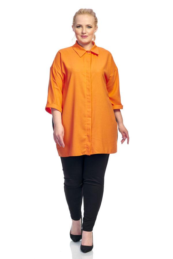 Рубашка Шлейфик (оранжевый)